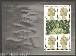 2000 MS2147 Stamp Show Miniature Sheet